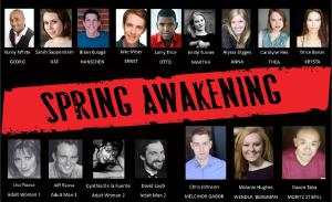 Cast of Spring Awakening 2016